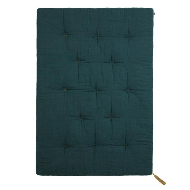 futon - Numero74 | futon double saloo | teal blue - mondocherry
