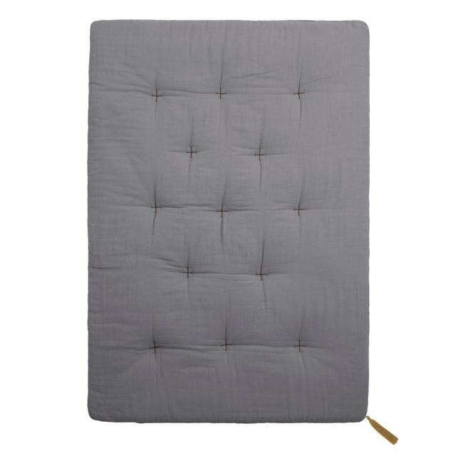 futon - Numero74 | futon double saloo | stone grey - mondocherry