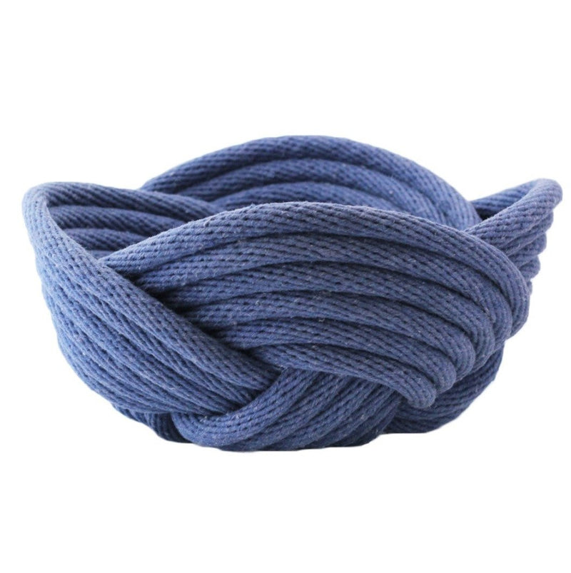 Crayon Chick weave bowl indigo-bowl-crayon chick-mondocherry
