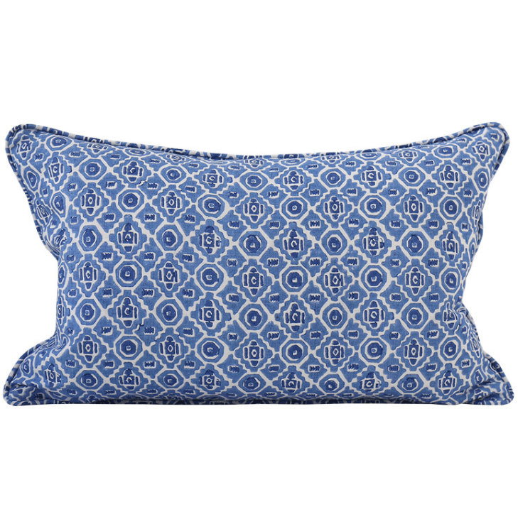 mondocherry homewares - Walter G Kepos cushion (lapis)