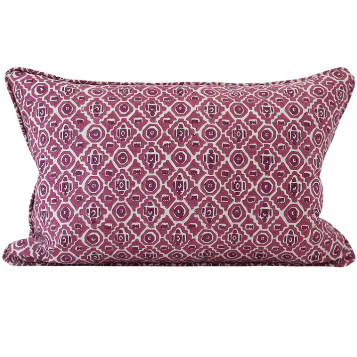 mondocherry homewares - Walter G Kepos cushion (sangria)