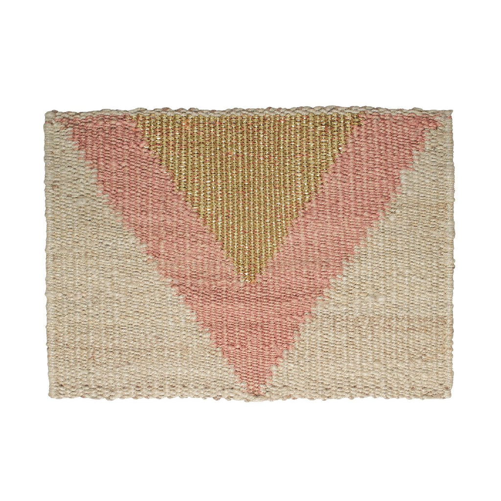 "Langdon | ""Arrow"" handwoven doormat"