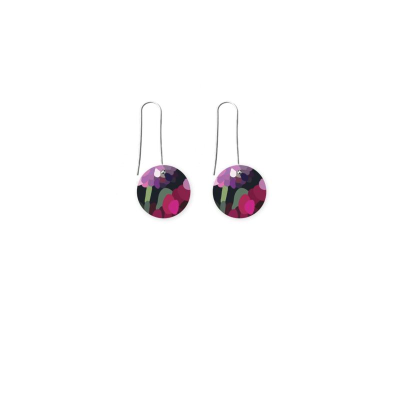 Moe Moe | bloom kimmy circle long drop earrings