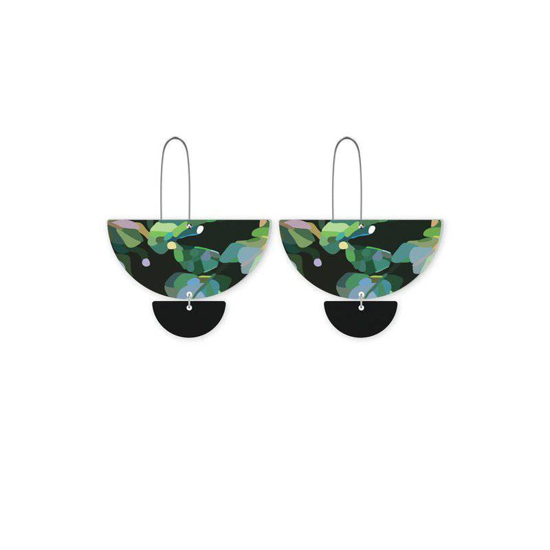 Moe Moe | jungle kimmy statement long drop earrings