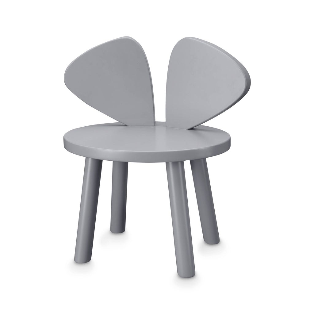 mondocherry nofred mouse chair grey