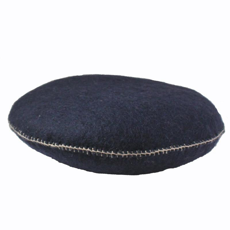 Muskhane smartie cushion (bleu marine)-cushion-muskhane-mondocherry