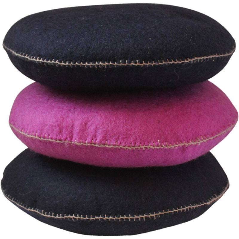 mondocherry homewares - Muskhane smartie cushion large - perme - stack