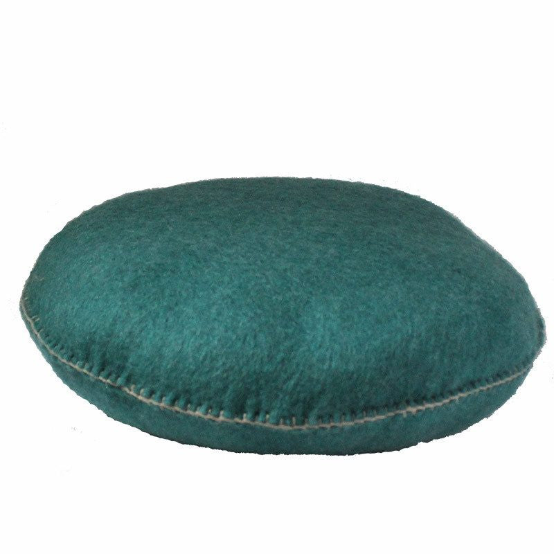 mondocherry homewares - Muskhane large smartie cushion (turquoise pastel)