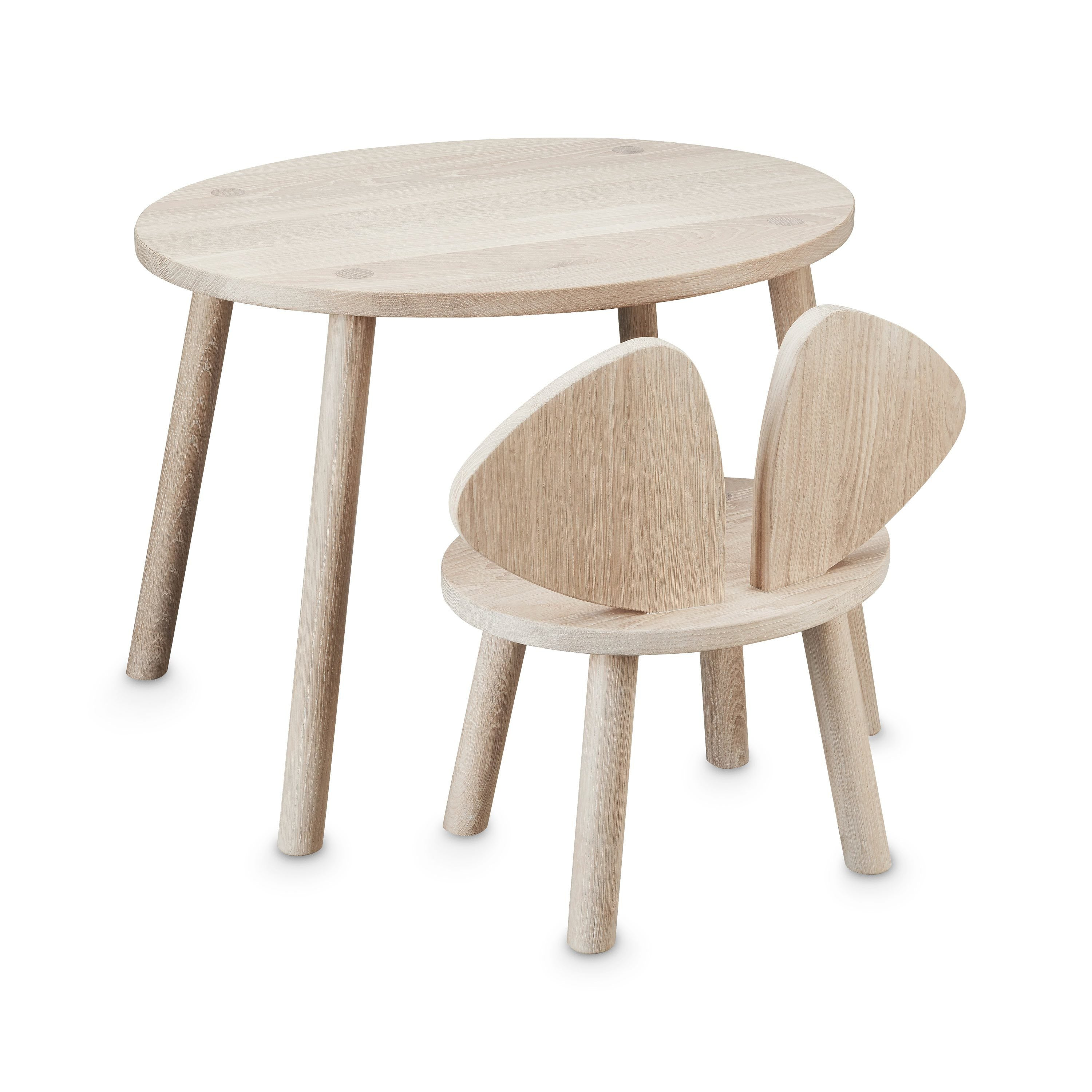 Nofred Mouse Table (Oak)