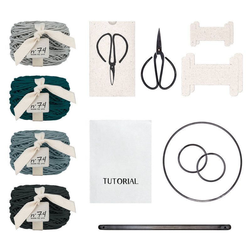 Numero74 | weaving kit | flow