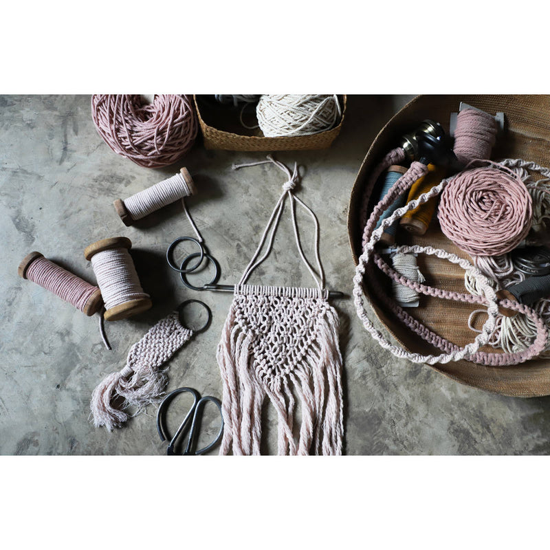 Numero74 | macrame freedom kit | spring mix - ambience
