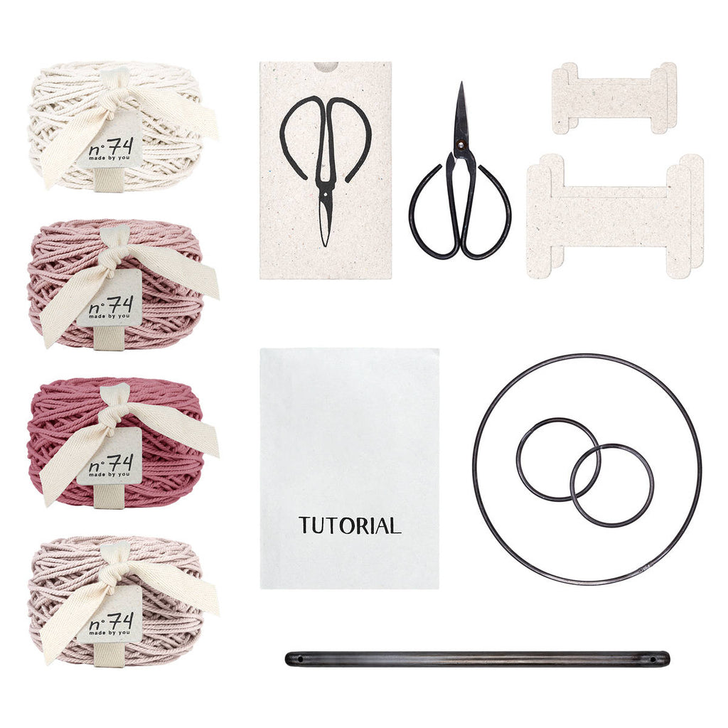 Numero74 | macrame freedom kit | spring mix
