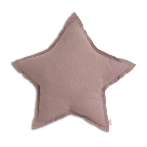 Numero74 Star cushion thai cotton medium (dusty pink)-cushion-numero74-mondocherry