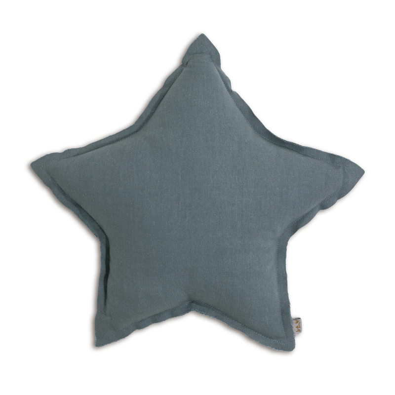 Numero74 star cushion thai cotton medium (ice blue)-cushion-numero74-mondocherry