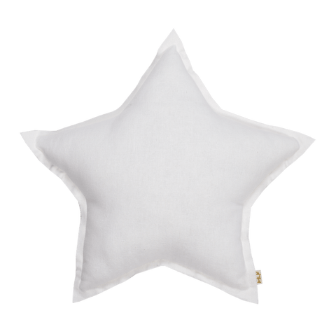 Numero74 star cushion thai cotton medium (white)-cushion-numero74-mondocherry