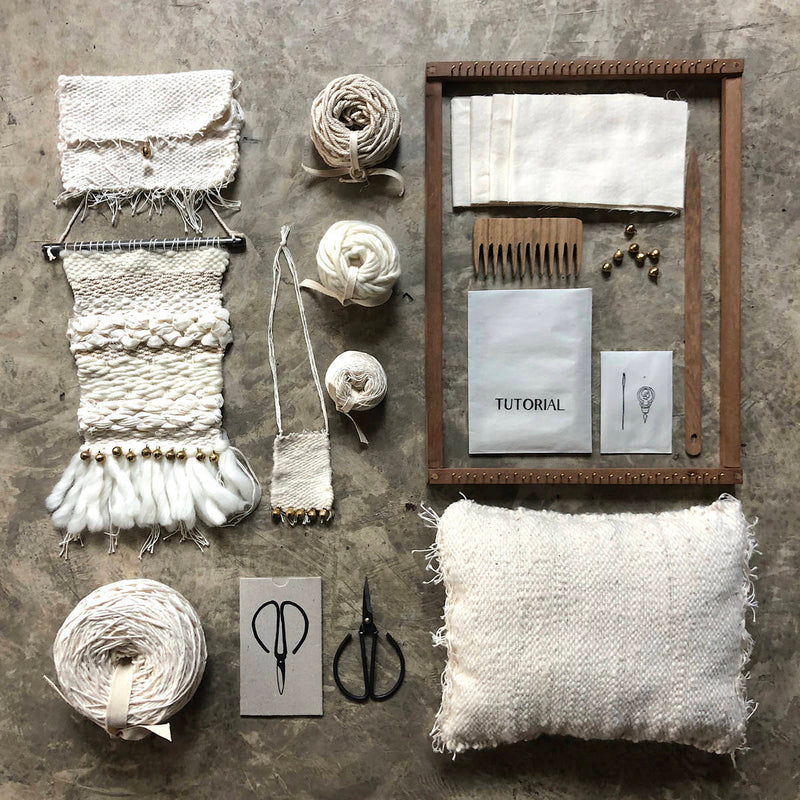 Numero74 | weaving kit | flow - layout