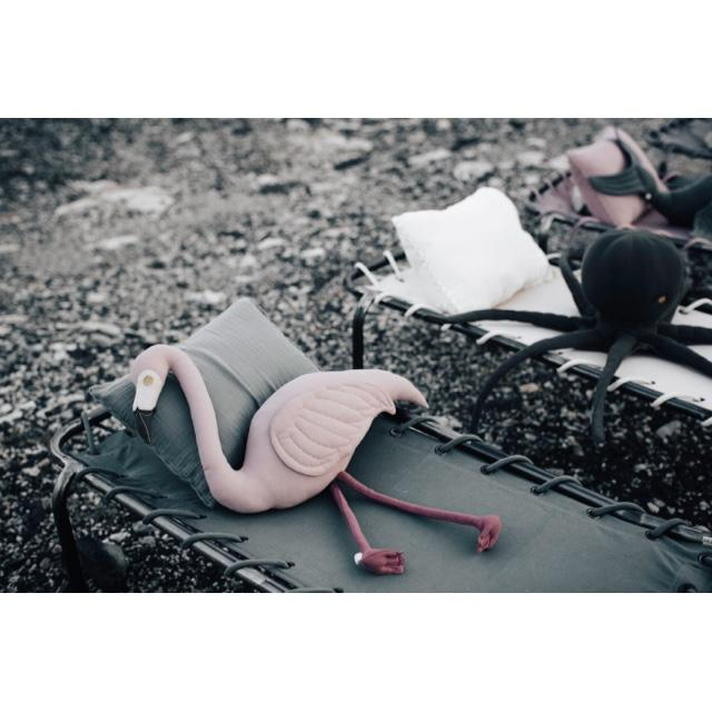 cushion - Numero74 | Polly flamingo cushion - mondocherry