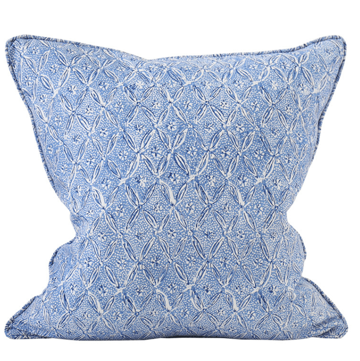 mondocherry homewares - Walter G Palladio cushion (lapis)