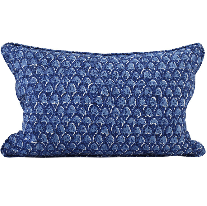 mondocherry homewares - Walter G Scopello cushion (dark lapis)