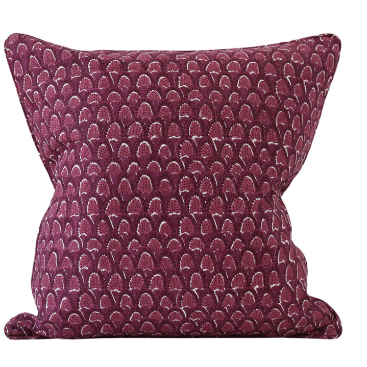 mondocherry homewares - Walter G Scopello cushion (sangria)