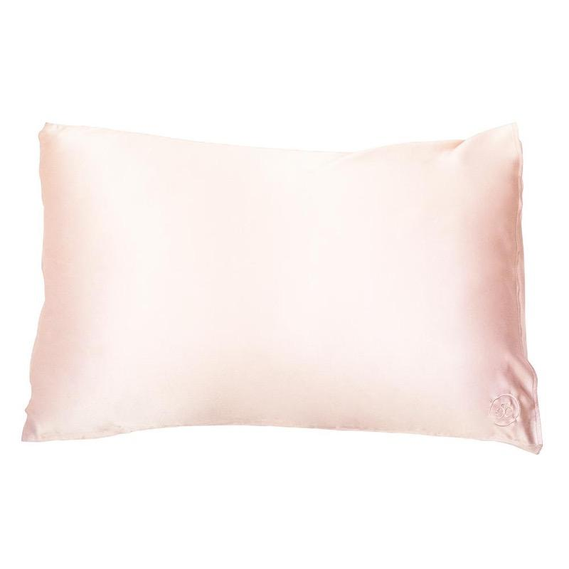 The Goodnight Co mulberry silk pillowcase - pink