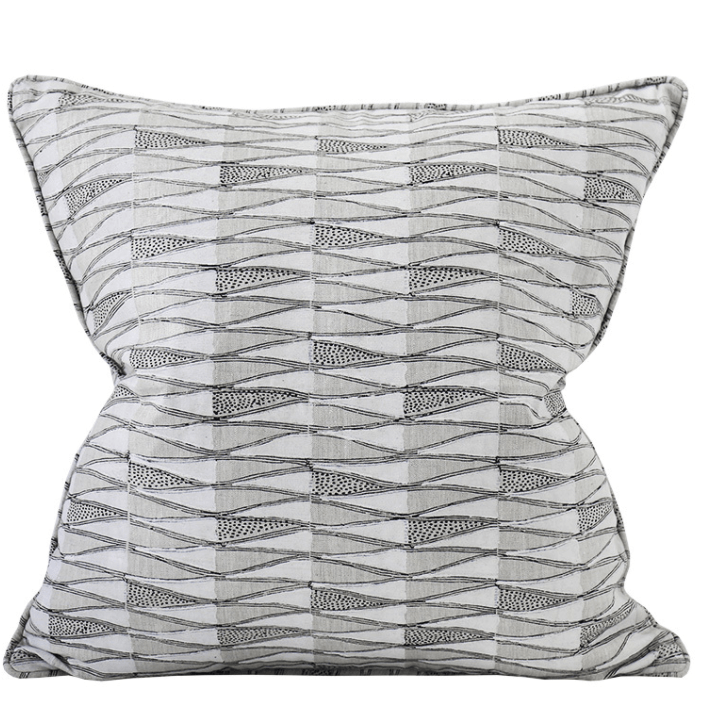 mondocherry homewares - Walter G Tangier cushion (chalk)