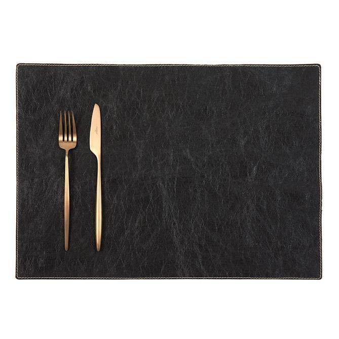Uashmama Placemat Black - mondocherry