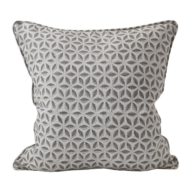 Walter G | Hanami Linen cushion | mud
