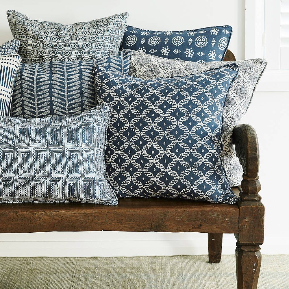 Walter G | linen cushion | kulu | harbour - chair