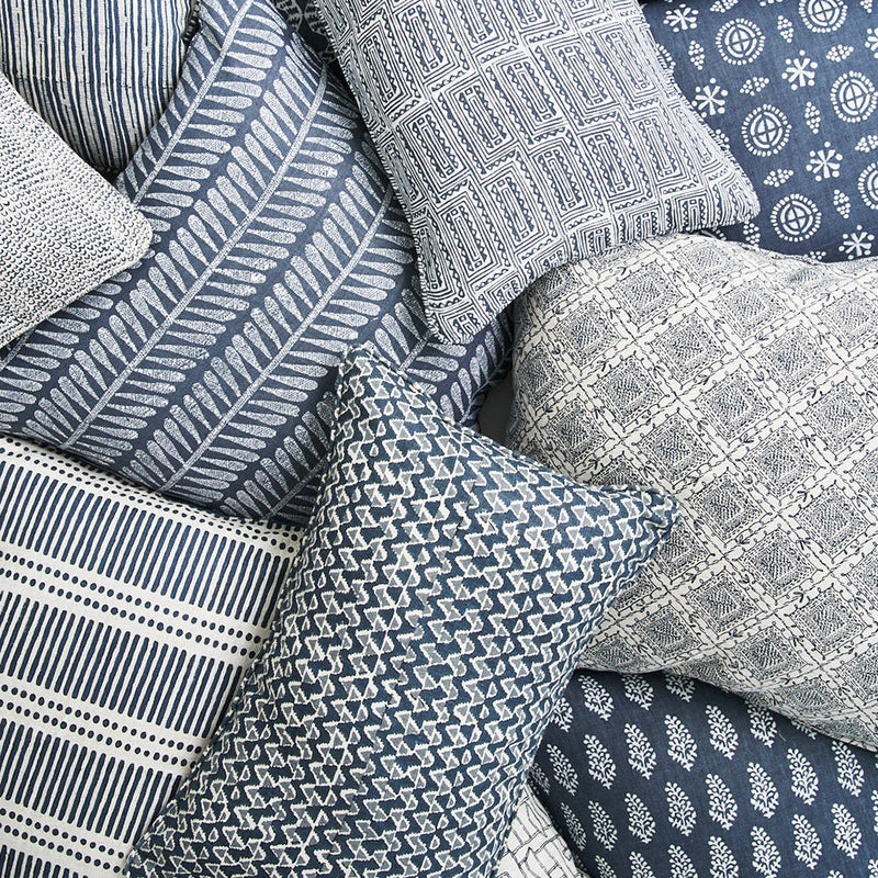 Walter G | linen cushion | kulu | harbour - stack