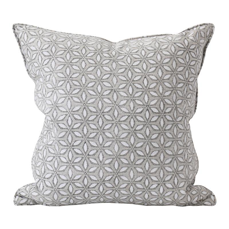 Walter G | hanami linen cushion | chalk