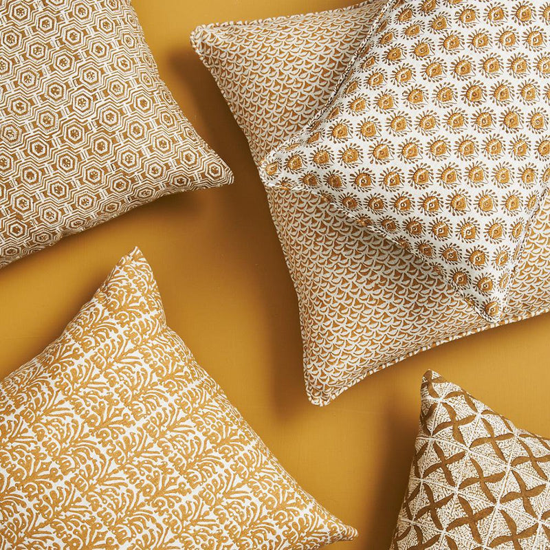 Walter G | moro linen cushion | saffron - collection