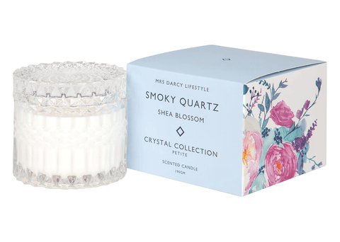 Mrs Darcy candle petite (Smokey Quartz) - shea blossom-candle-Mrs Darcy-mondocherry