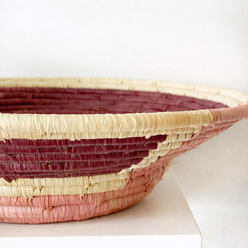 "African woven bowl ""Coronet"" 