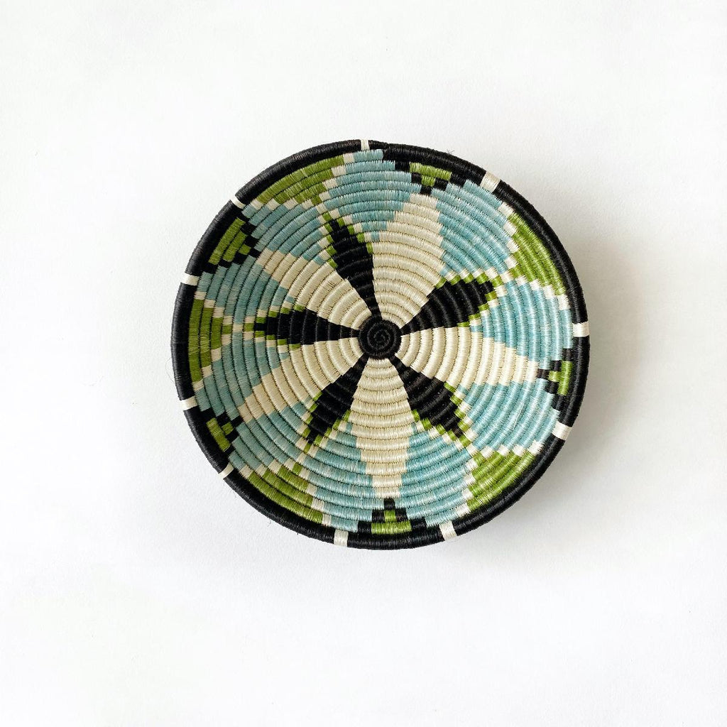 "African woven bowl ""Hope"" 