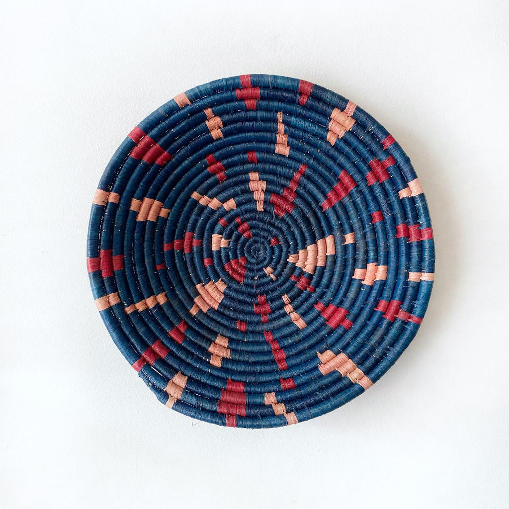 "African woven bowl ""Terrazzo"" 