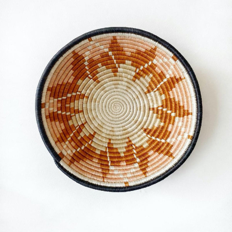 "African woven bowl ""Tumaini"" 