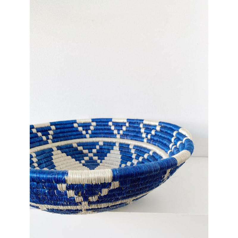 """Kwizera"" African woven bowl 