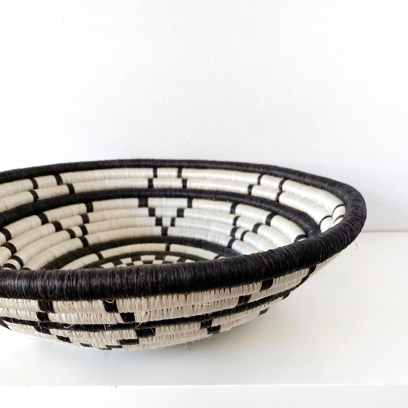 """Thousand Hills"" woven bowl 