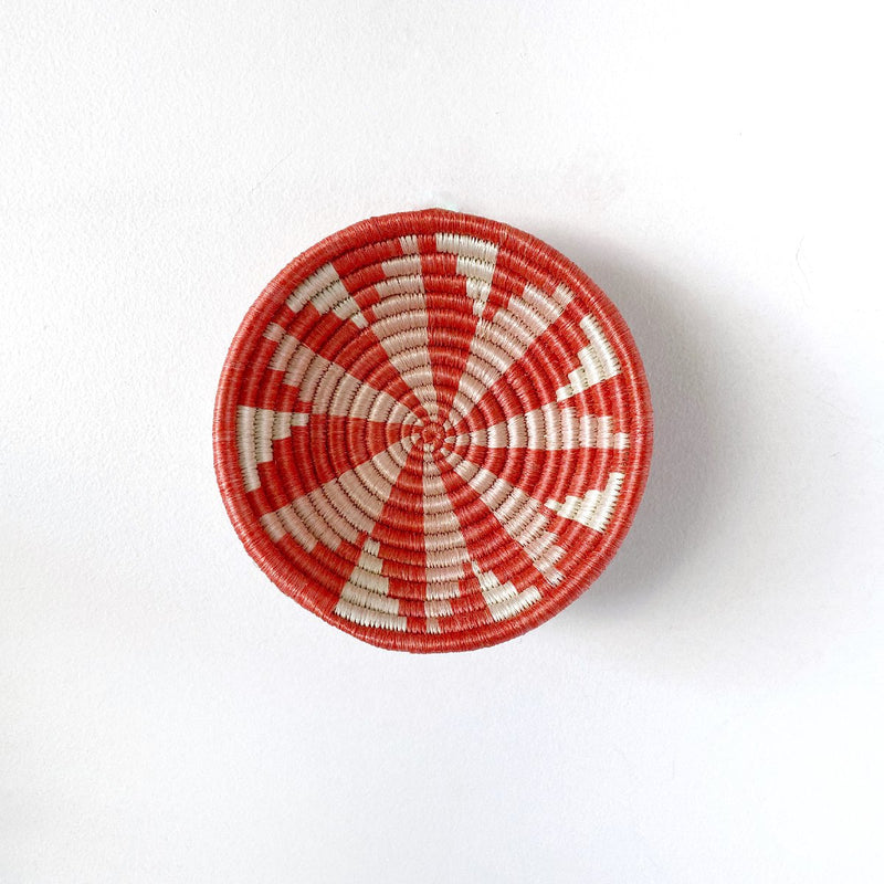 "African woven bowl ""Virunga"" 