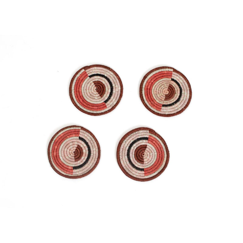 "African woven coasters ""Mara"" 