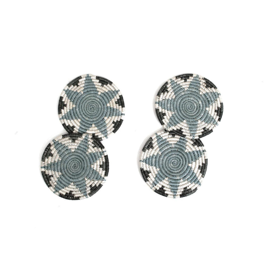"African woven coasters ""Hope"" 