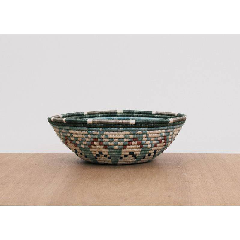"""Akagera"" African woven bowl #1 