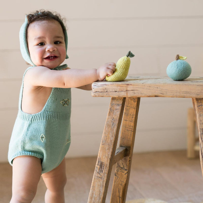 Blabla | cotton baby rattle | pear - play