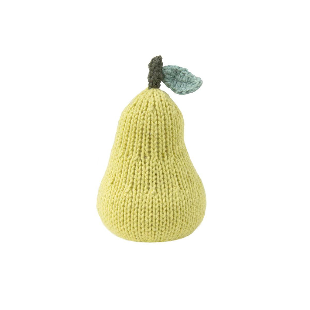 Blabla | cotton baby rattle | pear