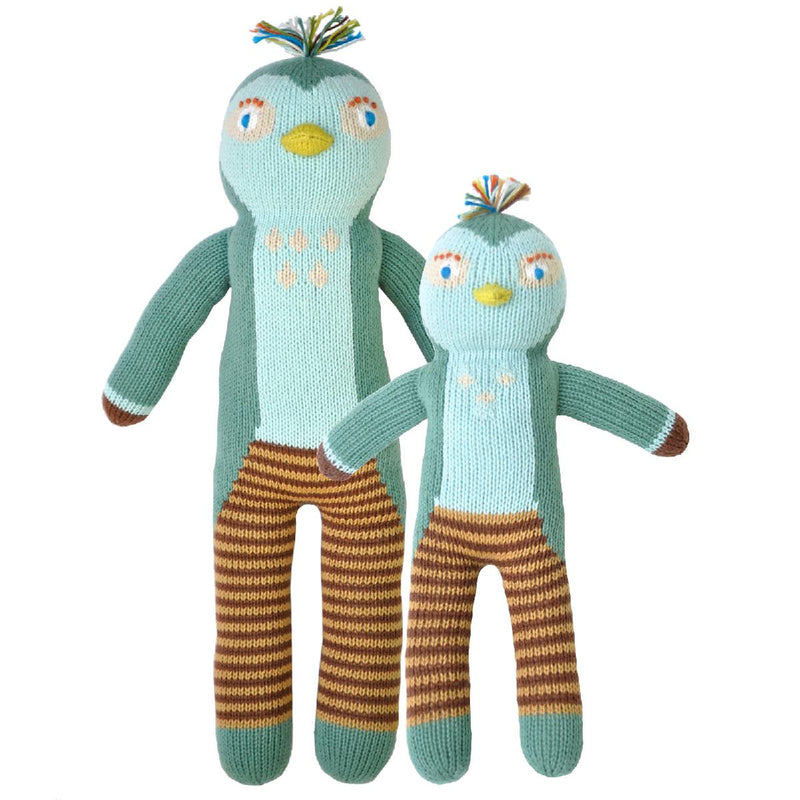 "Blabla | ""Figaro"" bird, kids cotton doll"