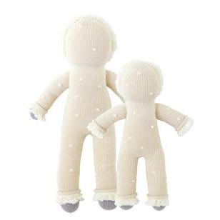 "Blabla | ""Flurry"" yeti, kids cotton doll back"