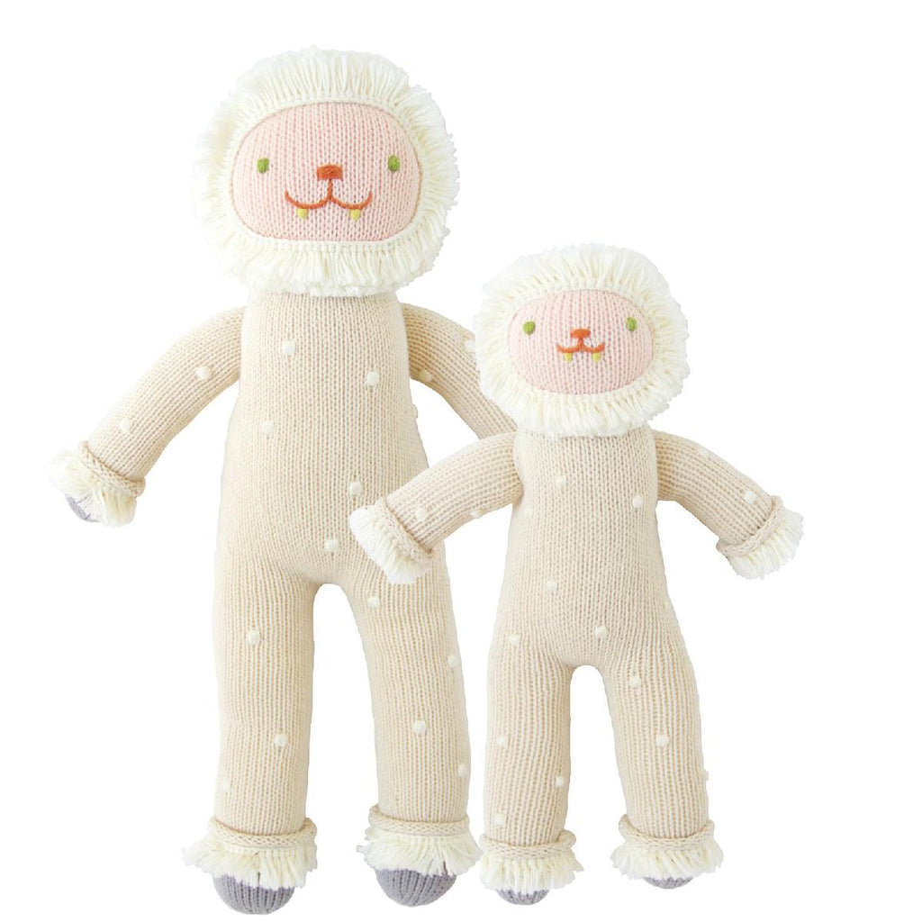 "Blabla | ""Flurry"" yeti, kids cotton doll"