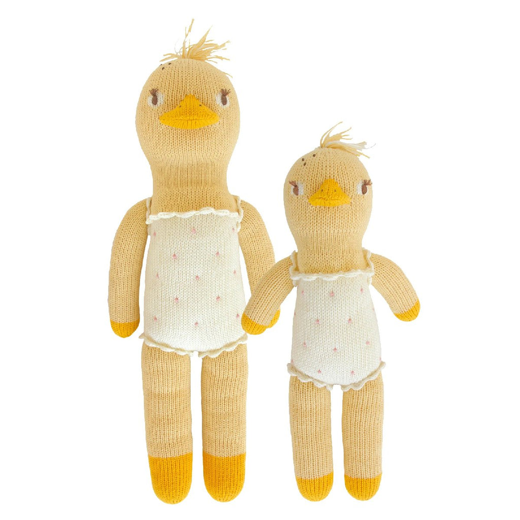 "Blabla | ""Lucille the Duck"" kids cotton doll"