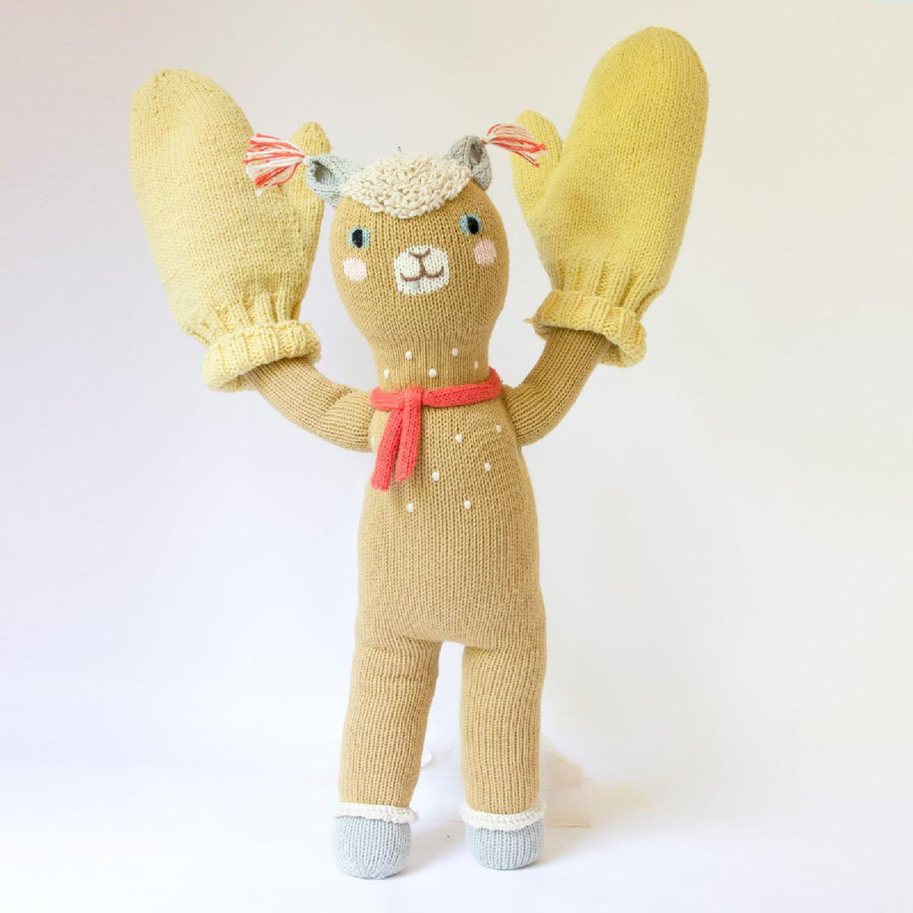 "Blabla | ""Machu"" kids cotton doll - play"